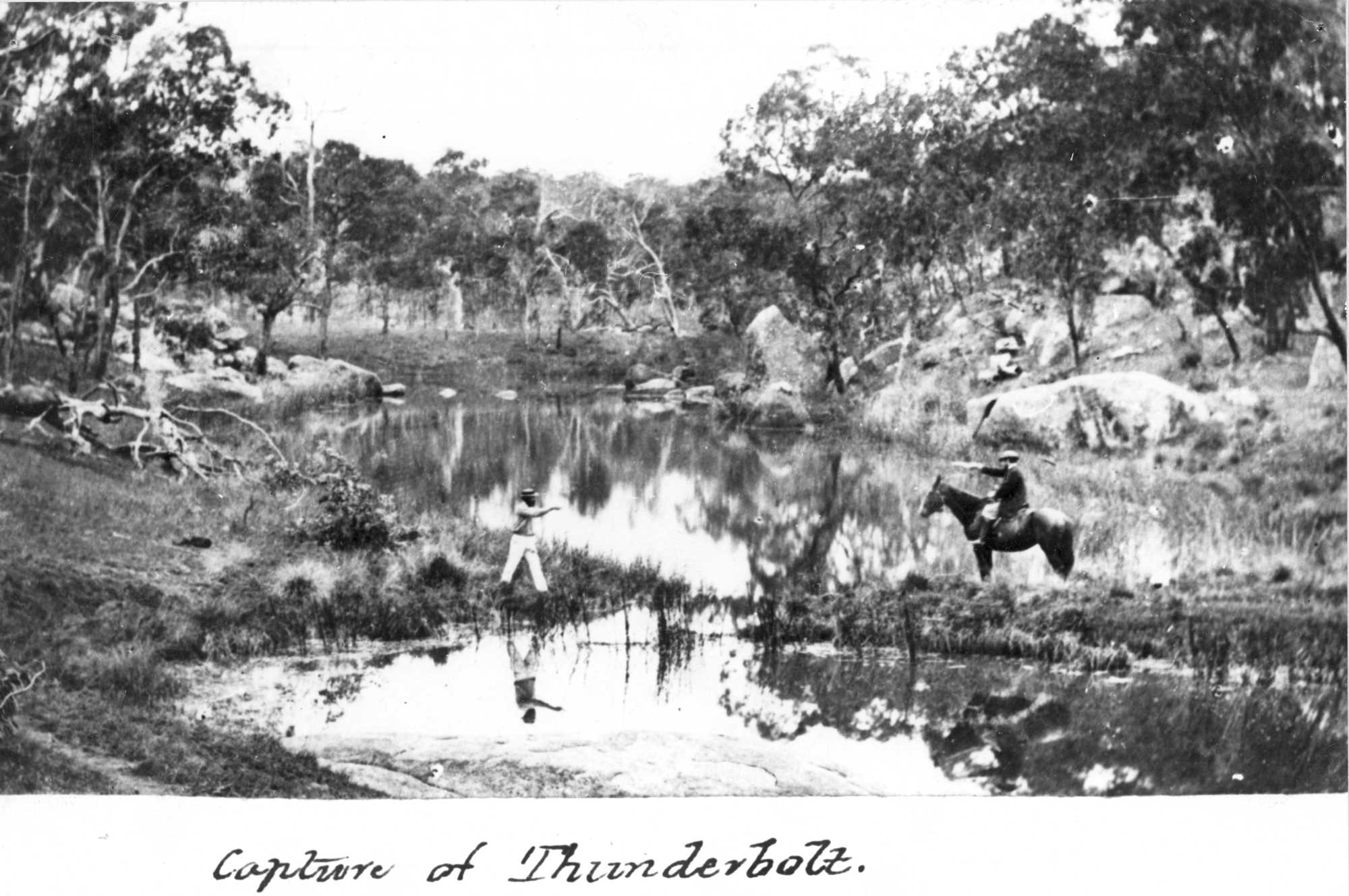 Reenactment of the Capture of Frederick Ward held at UNERA, Armidale