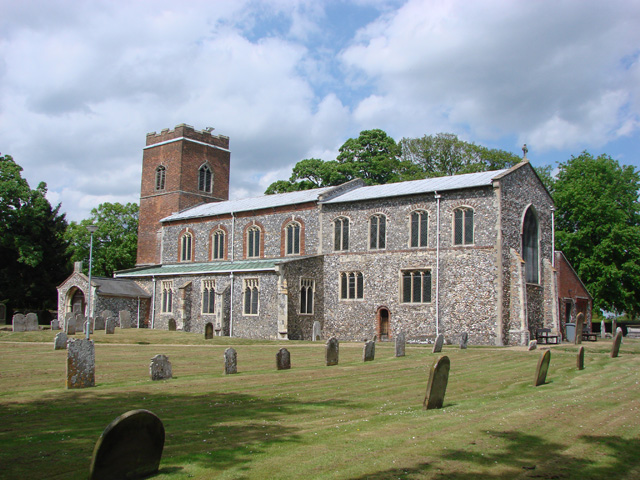 St Mary and St Margaret's Church, Sprowston, 2009.