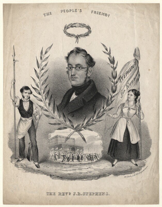 Portrait of Joseph Rayner Stephens c. late 1830s